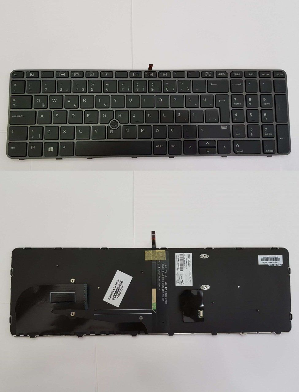 HP EliteBook 850 G3 Y3C08EA Notebook Keyboard