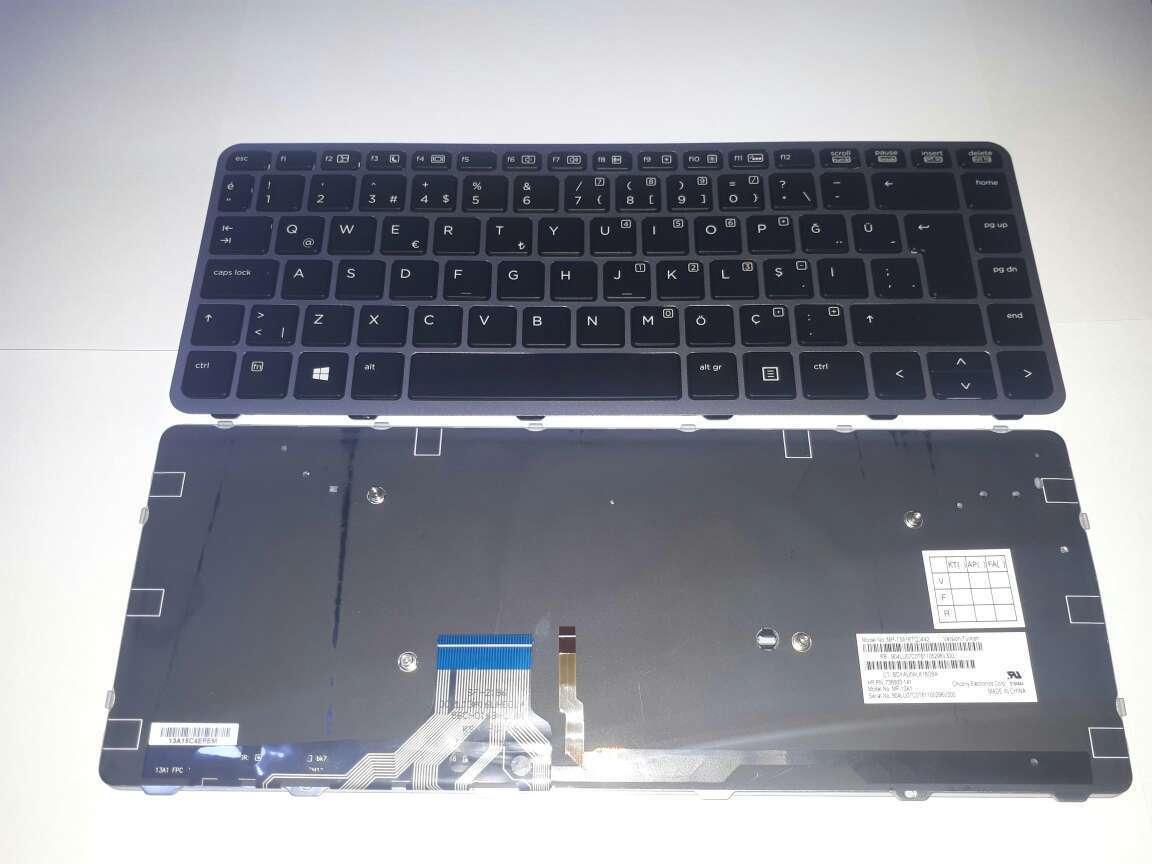 HP Folio 1040 G1 G2 Klavye